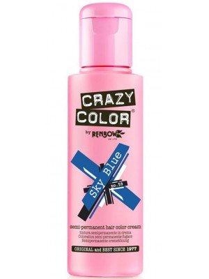 Crazy Color Semi-Permanent Hair Color - Sky Blue