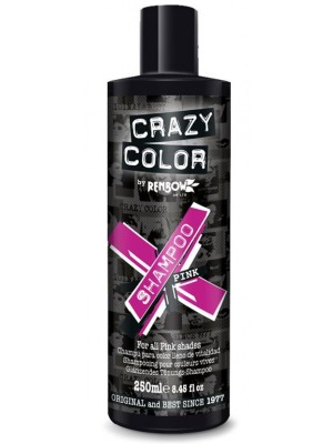 Wholesale Crazy Colour Hair Shampoo for Pink Shades