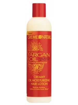 Wholesale Creme Of Nature Argan Oil Creamy Oil Moisturizing Hair Lotion - 250ml