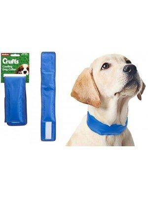 Crufts Cool Gel Filling Cooling Dog Collar
