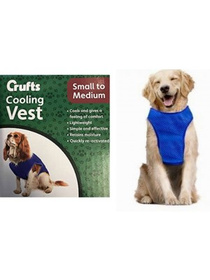 Crufts Small To Medium Pet Cooling Vest