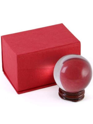 Crystal Ball with Stand - 5cm