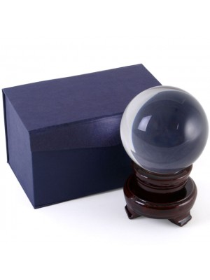 Crystal Ball on Stand - 8cm