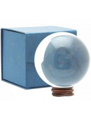Crystal Ball with Stand - 11cm