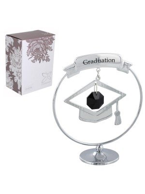 Wholesale Crystocraft Graduation Gift With Mortar Hat & Swarovski Crystal