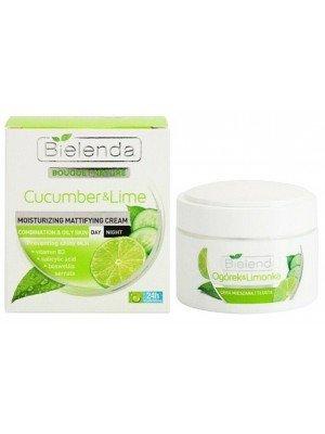 Wholesale Bielenda Cucumber & Lime Moisturizing Cream-50ml