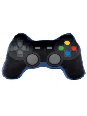Game Over Game Controller Shaped Plush Cushion