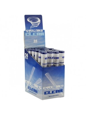 Wholesale Cyclones Pre Rolled Transparent Cone - Clear