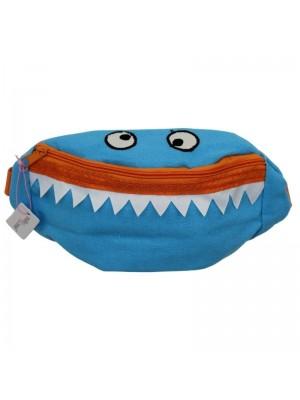 Wholesale Children's Monster Face Bum Bag - Assorted Colours