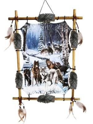 Wholesale Alphas Alliance Wolf Pack Dreamcatcher - 56cm