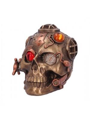 Steampunk Under Pressure Skull- 14.8 cm