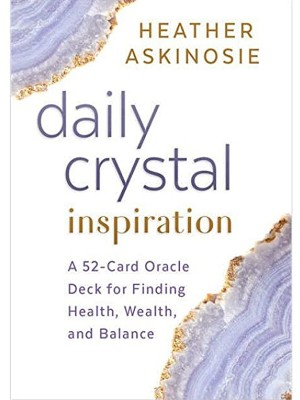 Wholesale Daily Crystal Inspiration Oracle Cards By Heather Askinosie