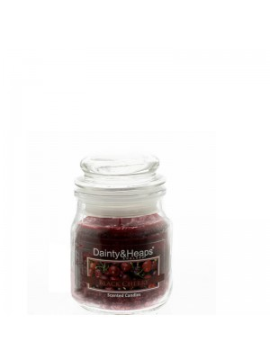 Dainty & Heaps Scented Jar Candles Black Cherry 3 oz