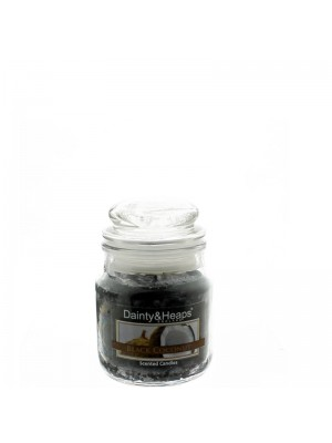Dainty & Heaps Scented Jar Candles Black Coconut 3 oz