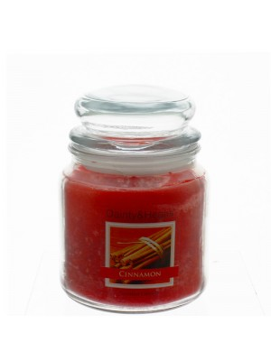 Dainty & Heaps Scented Jar Candles Cinnamon 15 oz