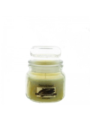 Dainty & Heaps Scented Jar Candles French Vanilla 3 oz