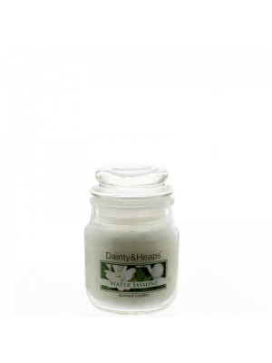 Dainty & Heaps Scented Jar Candles Water Jasmine 3 oz