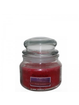 Dainty & Heaps Scented Jar Candles Pink Sands 8 oz