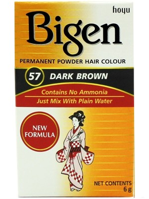 Wholesale Bigen Permanent Powder Hair Colour - Dark Brown (57)