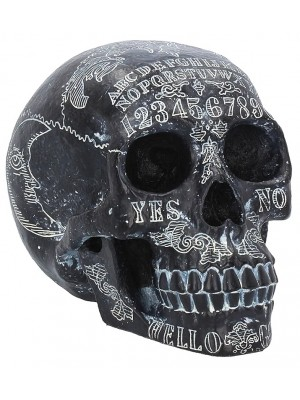 Dark Spirits Spirit Board Skull Figurine - 20cm