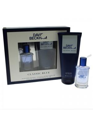 Mens David Beckham Perfume Gift Set - Classic Blue