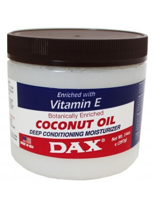 Wholesale Dax Coconut Oil Enriched With Vitamin E Deep Conditioning Moisturizer - 397g
