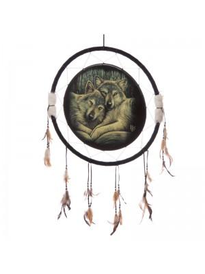 Lisa Parker Loyal Companions Wolf Dreamcatcher