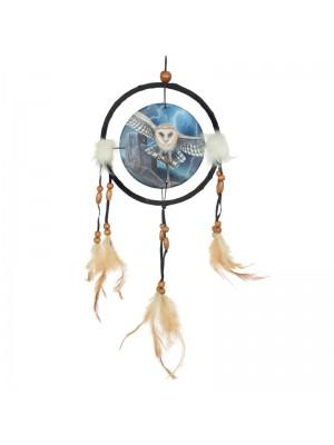 Lisa Parker Heart of the Storm Owl Dreamcatcher 16cm