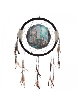 Wholesale Lisa Parker Hubble Bubble Cat and Kitten Dreamcatcher - 33cm
