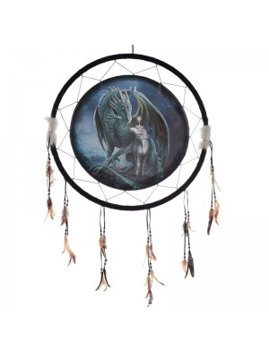 Wholesale Lisa Parker Protector of Magick Dragon Dreamcatcher 60cm