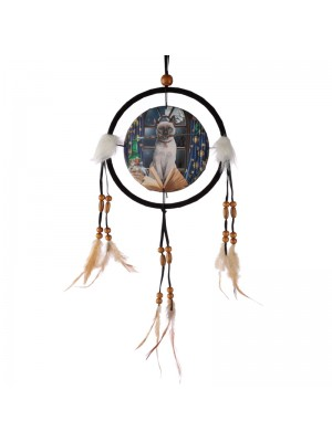 Wholesale Lisa Parker Hocus Pocus Cat Dreamcatcher - 16cm