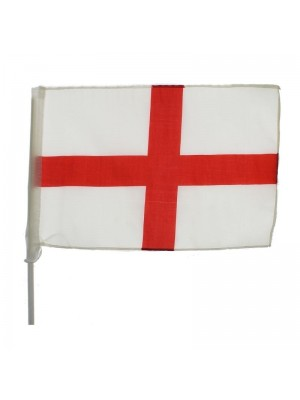 "Wholesale St Goerge's Cross England Car Flag (17"" x 11"")"