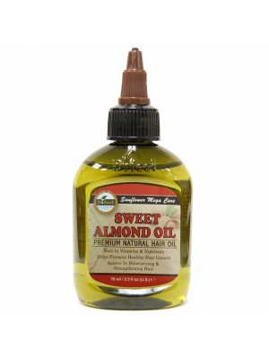 Difeel Sweet Almond Oil Premium Natural Hair Oil