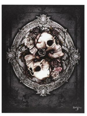 Dioscuri Canvas Plaque By Alchemy - 25 x 19cm