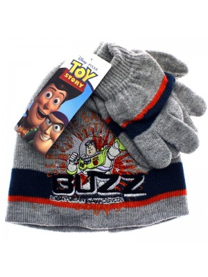 Disney Pixar Toy Story Hat and Gloves Set (Buzz) - Assorted Colours
