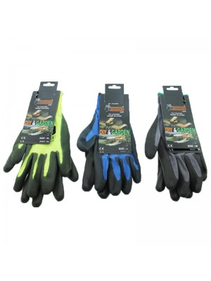 Handy DIY & Garden Gloves Assorted Size & Colours