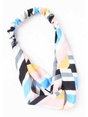 Wholesale Molly & Rose Bold Geometric Print Link Bandeau-Assorted