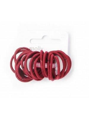 Molly & Rose School Colour Small Size Snag Free Elastics-2cm