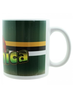 Dominica Flag Design New Bone China Mug