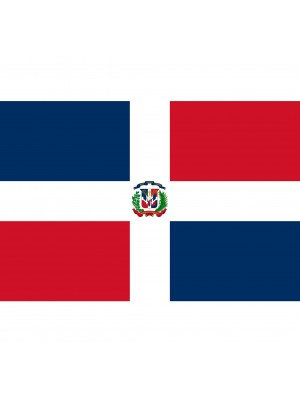 Dominican Republic Flag 5ft x 3ft