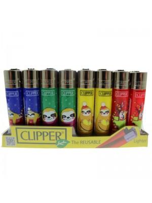 Clipper Reusable Lighter - Sloth Bear (Assorted Designs)