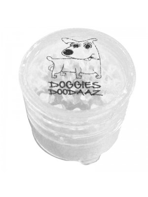 Wholesale 5-Part Plastic Grinder - Doggies Doodaaz - Assorted Colours