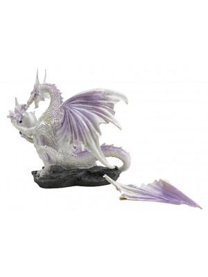 Winter Warrior Dragon Large Figurine - Ice Mother