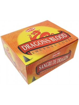 Wholesale Hem Incense Cones - Dragon Blood