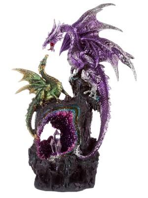 Dark Legends Power of the Crystal Amethyst Dragon