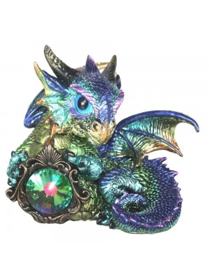 Dragon Figurine (Azuron) - 14cm
