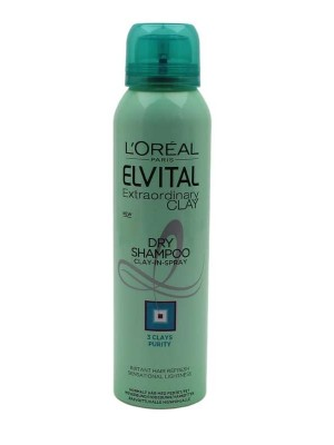 L'Oreal Paris Elvital Extraordinary Clay Dry Shampoo-150 ml