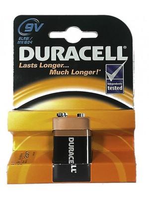 Duracell Alkaline Batteries- 9v
