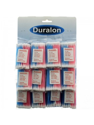 Duralon Cotton Buds In Display Card