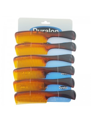 Duralon Handle Comb - Tort (20cm)
